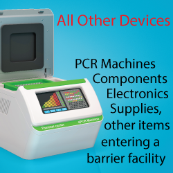 Contract Sterilization of PCR Readers